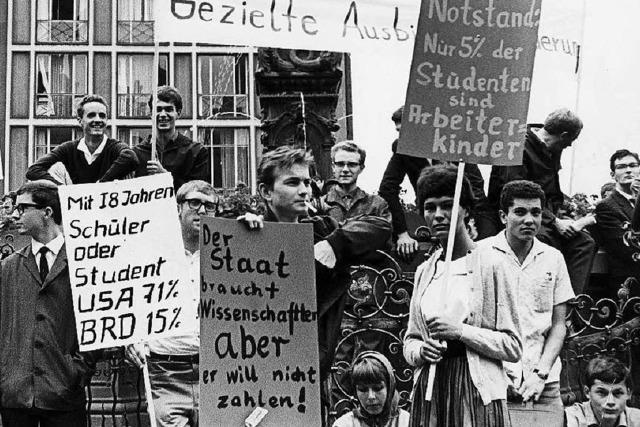 Demo gegen Bildungsnotstand: Weckruf aus Freiburg