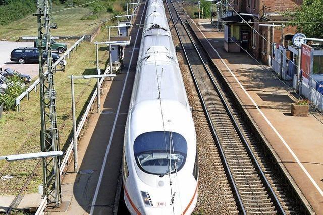 Bahn plant mit neuen Überholgleisen