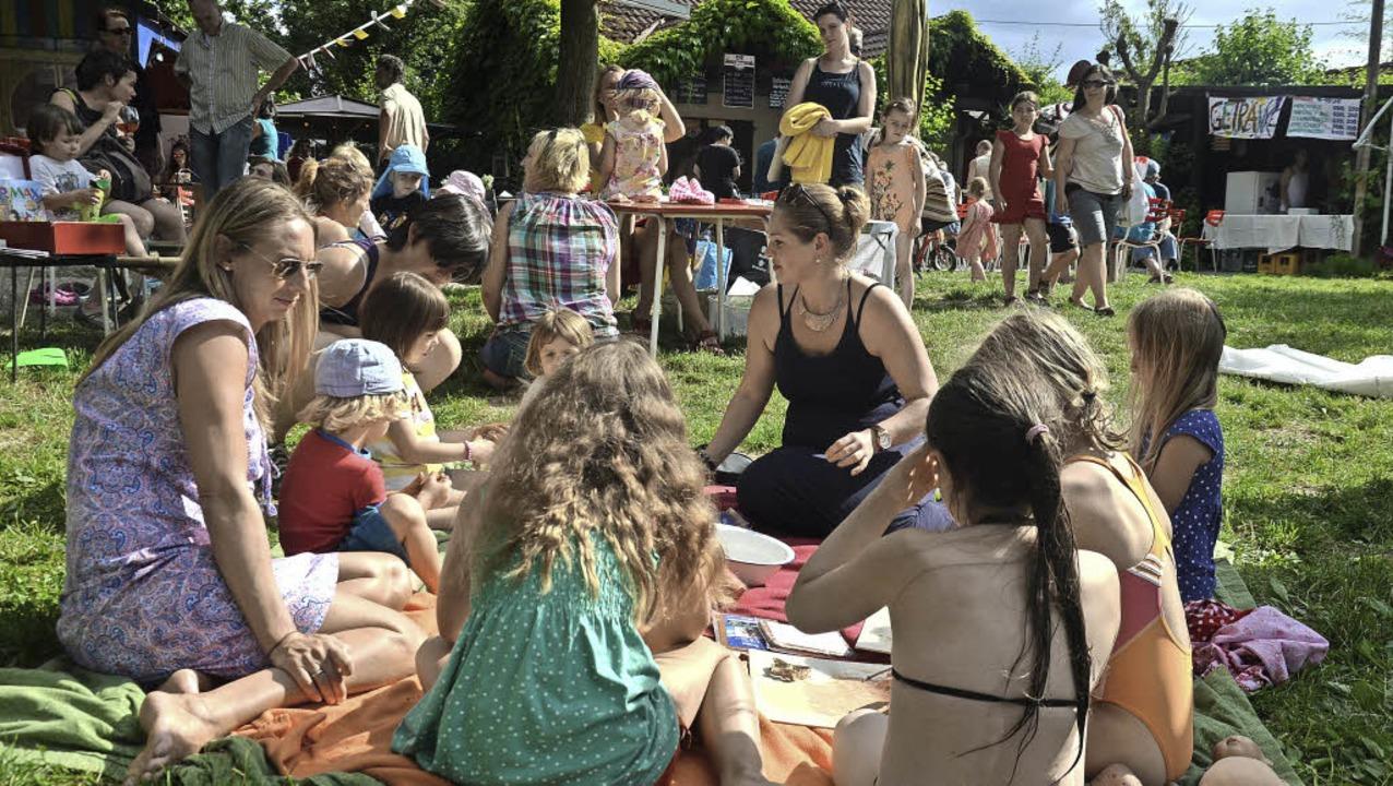 Wie bei einem  Familienfest ging es zu...efiz-Festival am Nimburger Baggersee.   | Foto: Privat