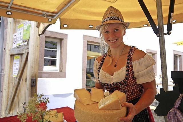 Der ADFC bietet eine Radtour zur Käsemesse in Oberreid an