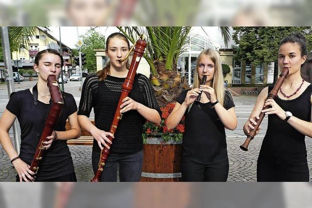 Junge Preisträger als leidenschaftliche Spielleut' in Gundelfingen