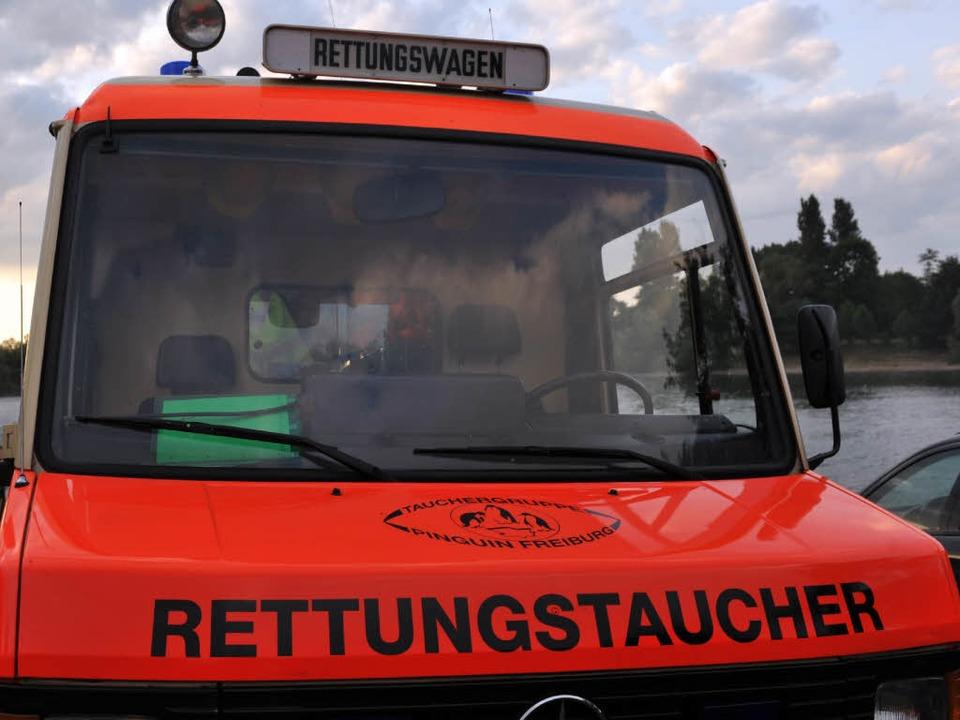 Bei Bad Bellingen musste eine alkoholisierte Frau aus dem Rhein gerettet werden.  | Foto: dpa
