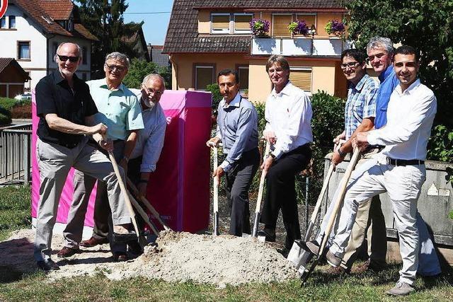 Start für schnelles Internet in Friesenheim