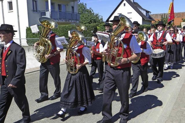Prozession zu Ehren der Apostel