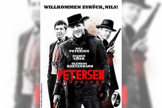 Fan aus Kollmarsreute bastelt Kinoplakate mit SC-Freiburg-Profis