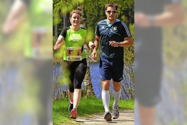 Florian Schillinger - ehemaliger Weltklasse-Athlet begleitet blinde Athleten