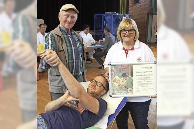 Blutspenden in Eichstetten