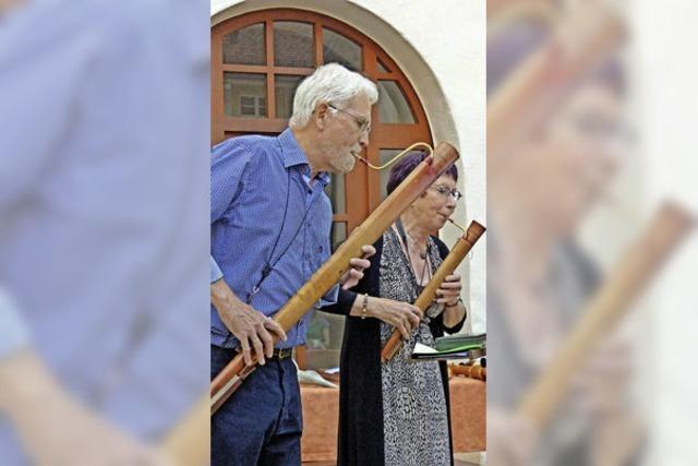 Alte Instrumente für die