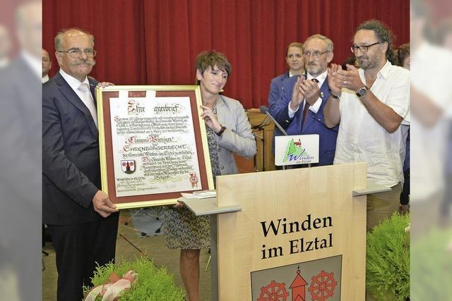 Windens erster Ehrenbürger
