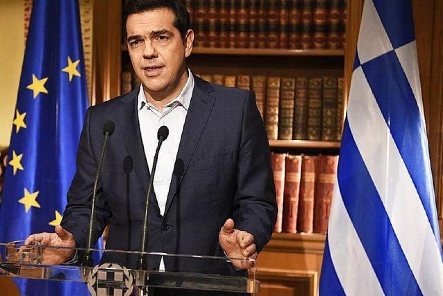 Tsipras ruft Griechen vor Referendum weiter zu