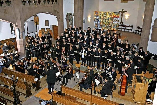 Fest der Chöre in der Badenweiler Paulskirche