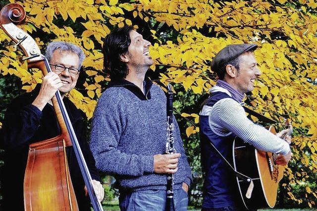 Trio Chotsch tritt beim Ebneter Kultursommer auf.