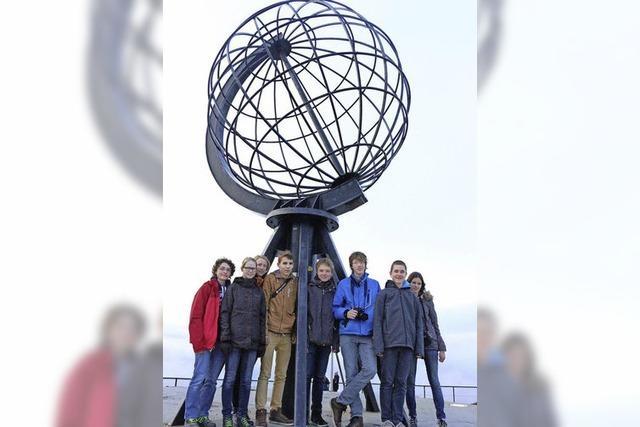 Schüler forscht am Nordkap
