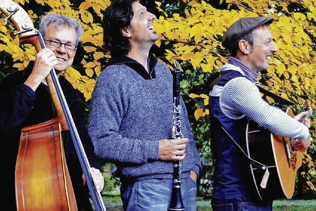 Das Trio Chotsch tritt beim Ebneter Kultursommer auf