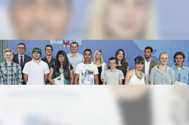 Preis des Landrats belohnt engagierte Schüler