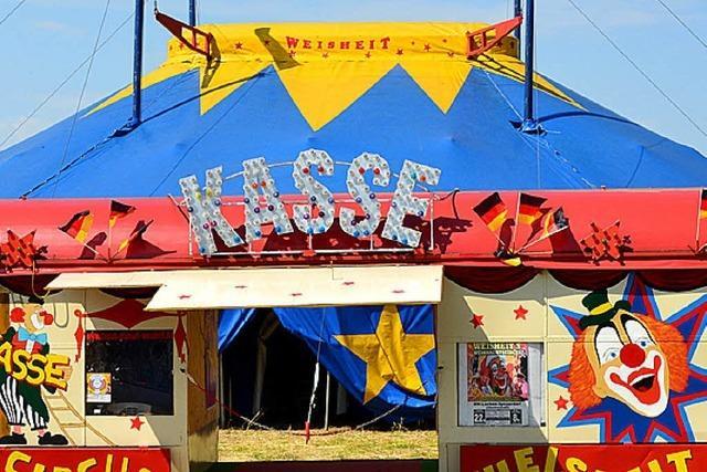 BZ verlost Karten für Zirkus Weisheit