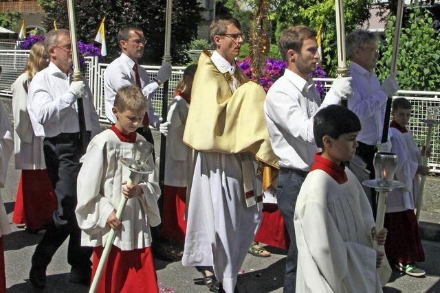 Prozession und ein gemütliches Fest