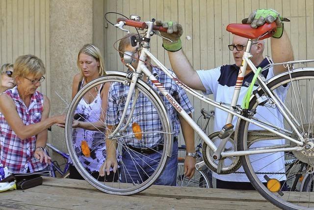Fahrrad–Auktion: Wer bietet mehr?