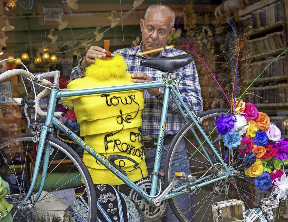 Utrecht ist gerüstet für die Tour de France.     Foto: dpa