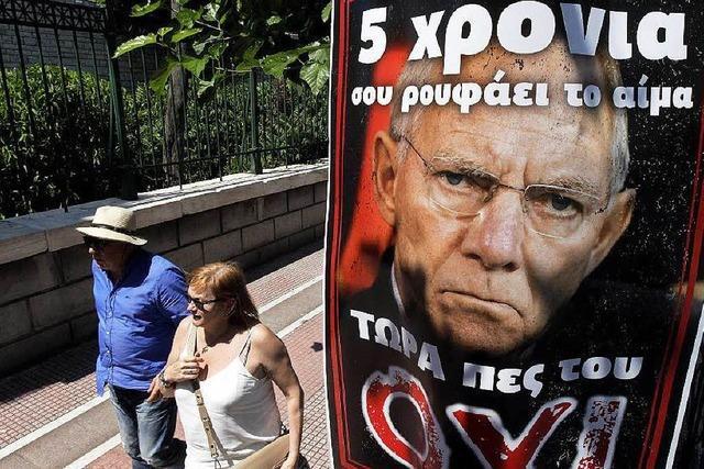 Referendum in Griechenland: Wahlkampf auf Hochtouren