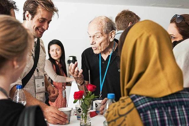 Lindau: Wenn Nachwuchsforscher auf Nobelpreisträger treffen