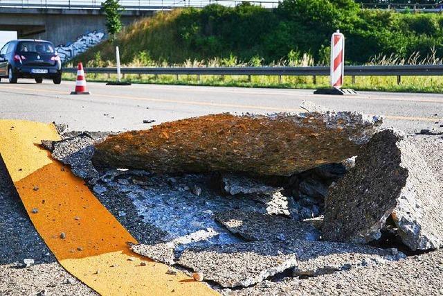 Hitze führt zu kaputten Belägen und Tempolimit auf Autobahnen
