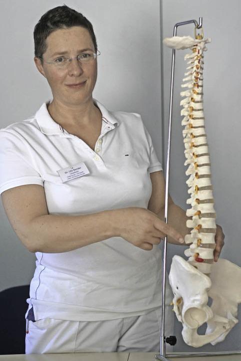 Ute Bender ist neue Wirbelsäulenexpertin am Kreiskrankenhaus Emmendingen  | Foto: Patrik Müller