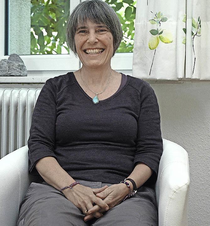 Bei Burnout helfen:  Die Sozialwissens...rin und Heilpraktikerin Anette Maaßen.    Foto: Ounas-Kräusel