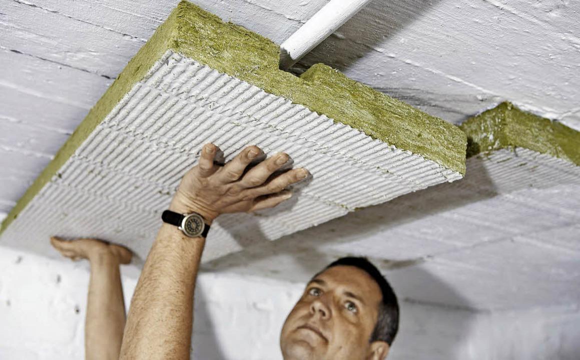 Spart Heizenergie – und damit Ko...kendämmung in unbeheizten Kellerräumen  | Foto: fmi
