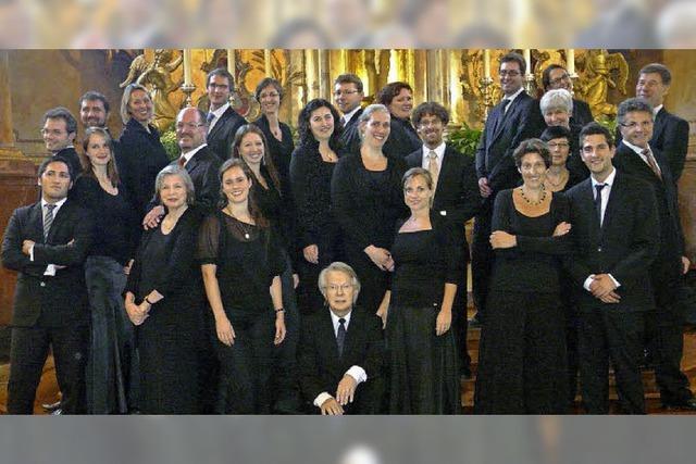 Freiburger Vokalensemble und Bach-Kollegium in Hinterzarten