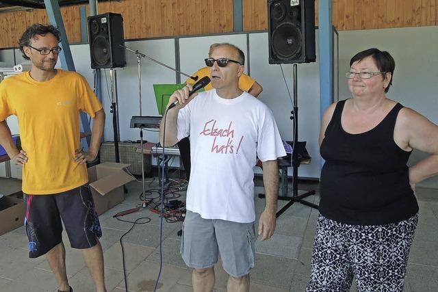 Zehn Jahre IG Bad mit Schwimmbadfest gefeiert