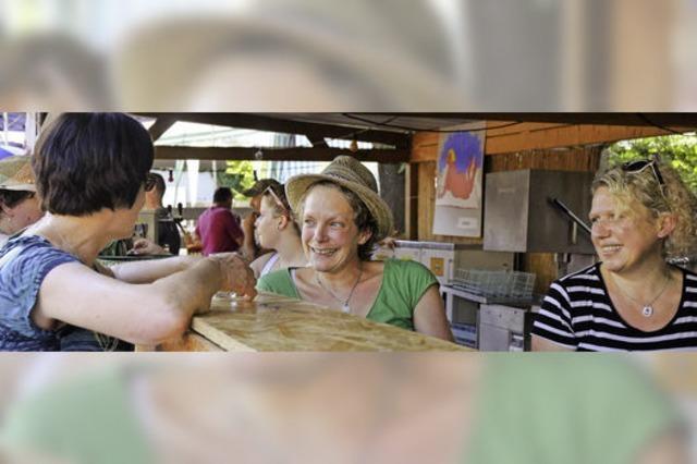 Trotz Hitze wird in Diersburg gefeiert