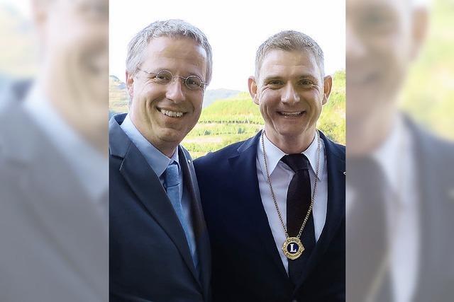 Breisacher Lions Club mit neuer Führung