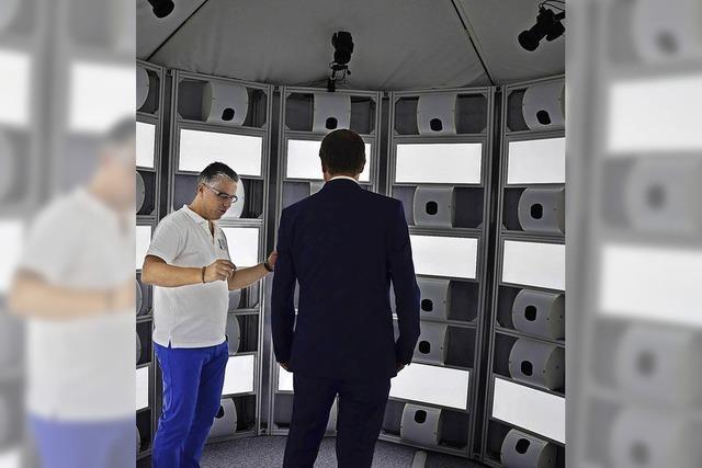 3-D-Technologie aus dem Scanner3-D-Technologie aus dem Scanner
