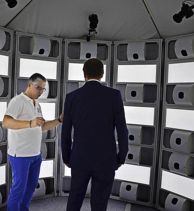 Der 3-D-Scanner von Voxelworld im Praxistest   | Foto: Martina Proprenter