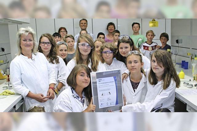 Von der Schule ins Labor