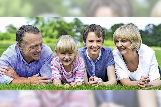 Menschen über 35 sind zufriedener mit dem Nachwuchs