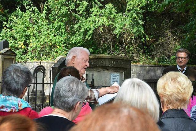 Herz Bloch ist der letzte, der 1939 in Kirchen beigesetzt wurde
