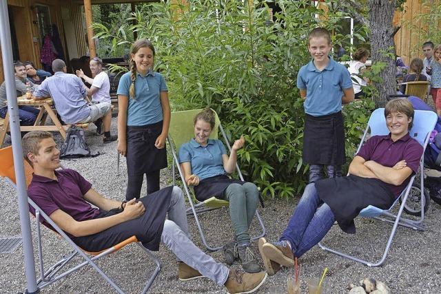 So betreiben Schüler ein Café in Ettenheimweiler