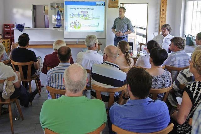 Wasserkraftwerk: Investor informiert