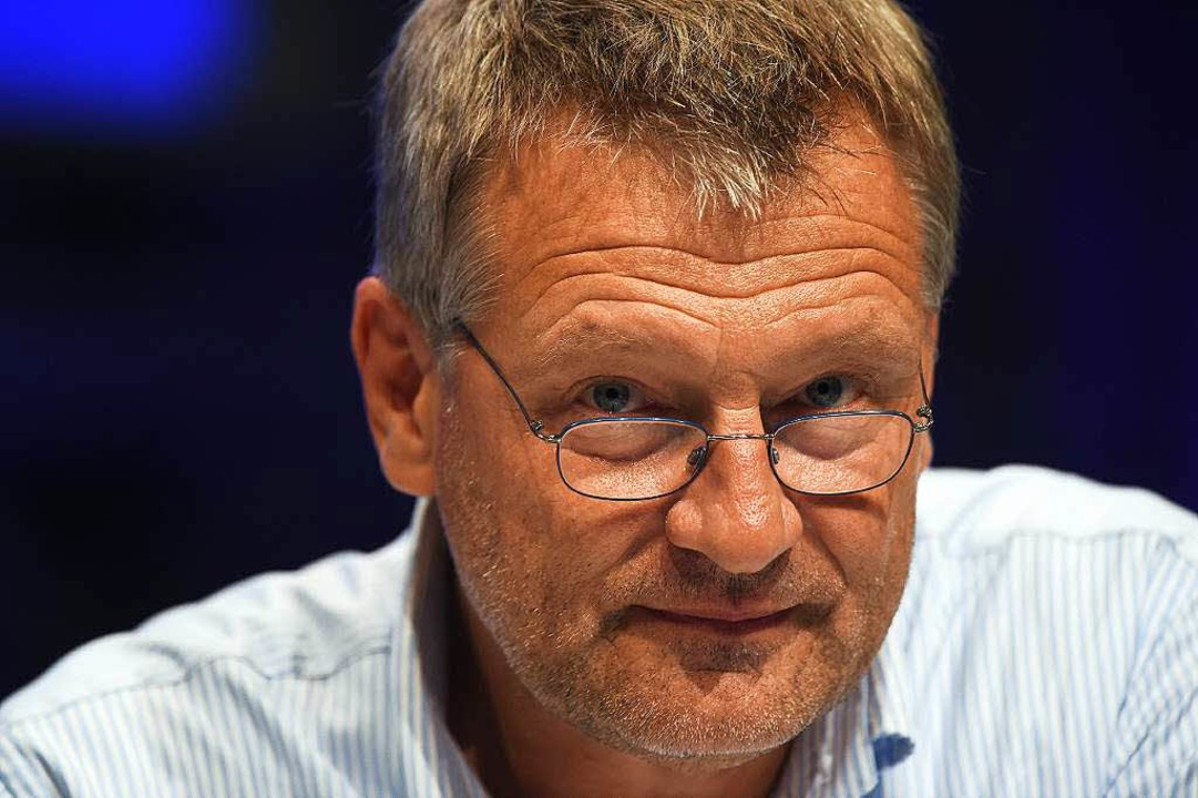 Jörg Meuthen, einer der vier Stellvertreter von Parteichefin Frauke Petry  | Foto: AFP