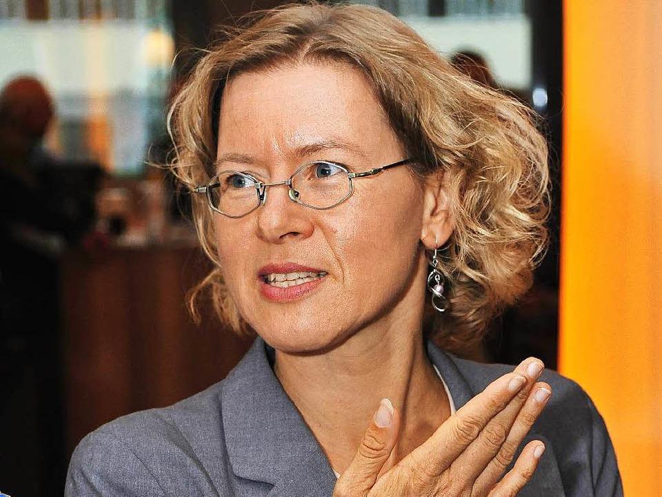 Elke Fein, Sprecherin des AfD-Kreisver... Vorstandsarbeit zur Verfügung stehen.  | Foto: Thomas Kunz