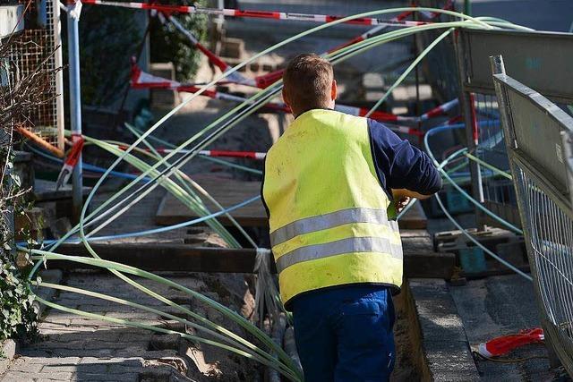 Breitbandnetz kommt schneller nach Lahr