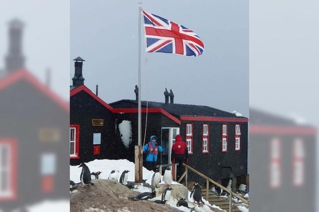 FLUCHTPUNKT: Museales in der Antarktis