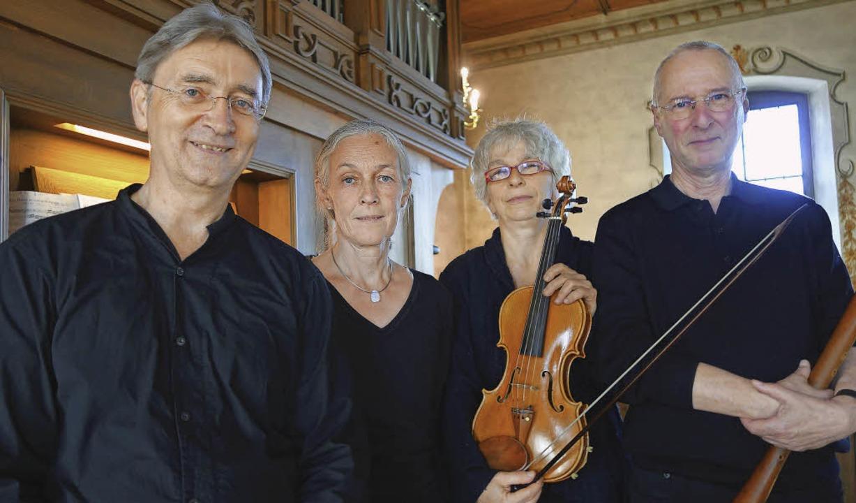 Sorgten im Kapuzinerkloster für berühr..., Antje Niedecken und Albrecht Barth.   | Foto: Mahler