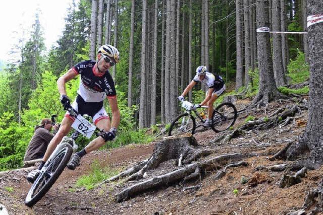 Mountainbiker kämpfen in Neustadt um Bundesligapunkte