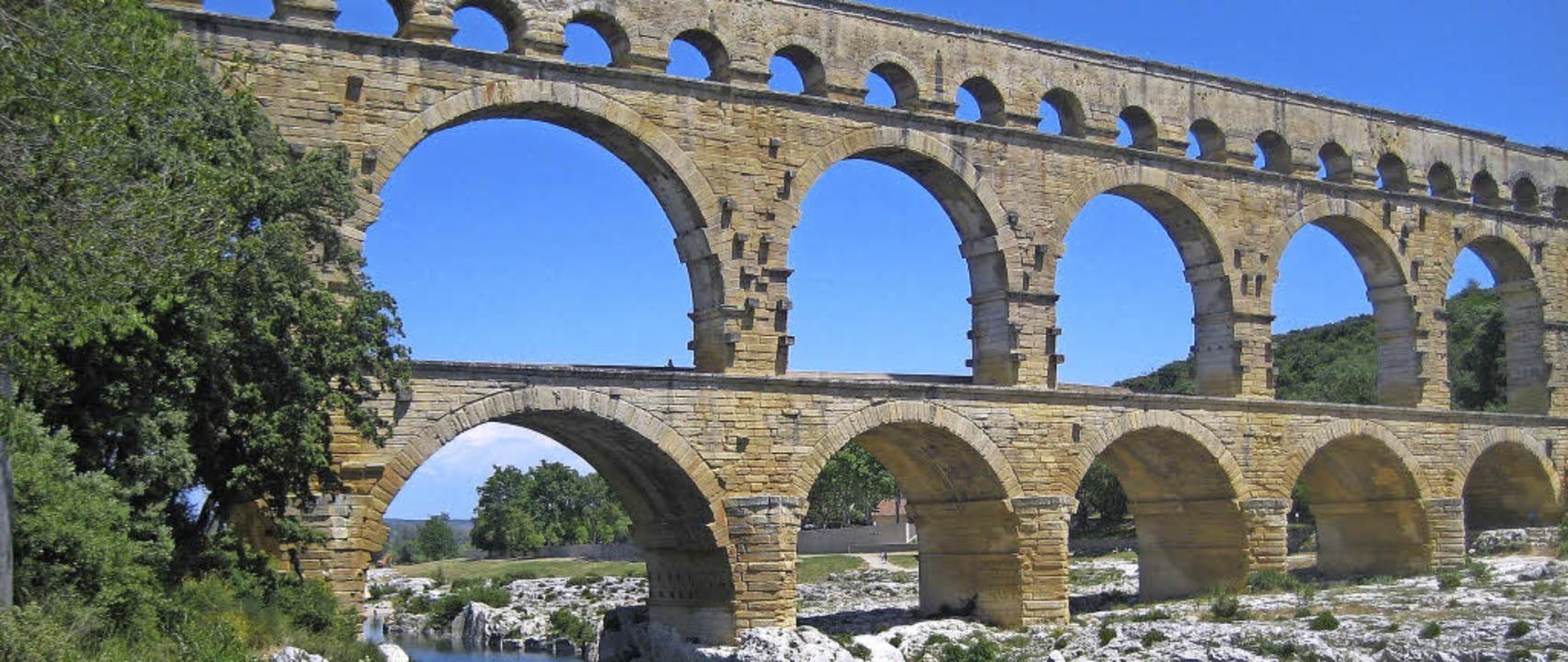 Der Pont du Gard in der Provence  | Foto: Faust-Gymnasium