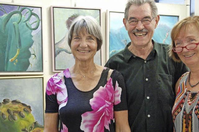Drei Künstler, eine Ausstellung