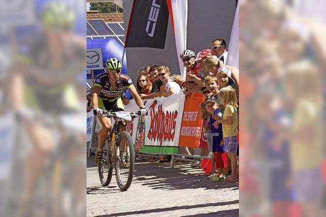 Radsport-Etappe in Grafenhausen