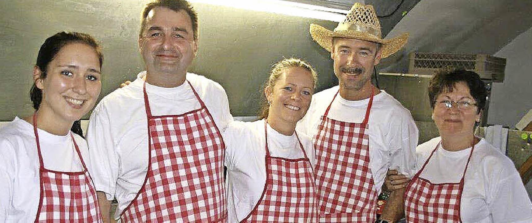Zu viele Köche verderben beim Rüßwihler Dorffest nicht den Brei.  | Foto: psc